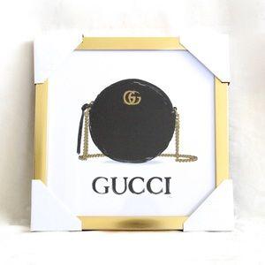 ✨HP✨ Gucci x Fairchild Paris Purse Framed Reprint